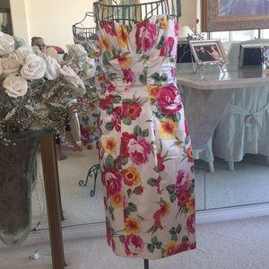 Floral  summer sleeveless dress